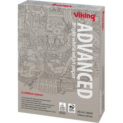 Viking Advanced Papier A4 100 g/m² Wit 500 Vellen