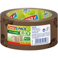 tesapack Ecotape Eco & Strong 50 mm x 66 m Bruin
