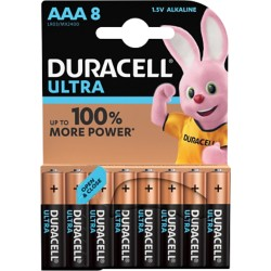 Duracell Batterijen Ultra Power AAA 8 stuks