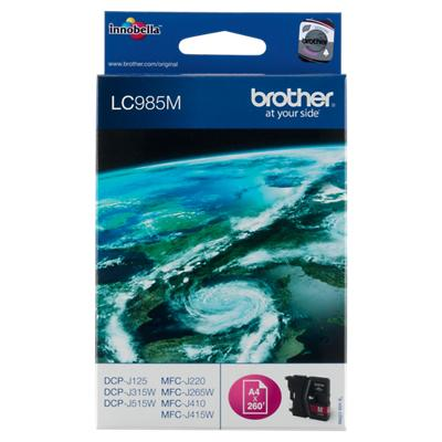Brother LC985M Origineel Inktcartridge Magenta