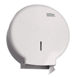 Office Depot Toiletdispenser Jumbo ABS Wit
