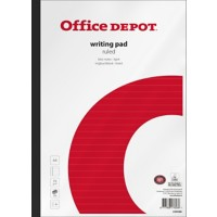 Office Depot A4 Notitieblok Wit Softcover Gelinieerd 5 Stuks à 200 Vellen