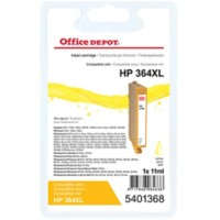 Office Depot Compatibel HP 364XL Inktcartridge CN687EE Geel