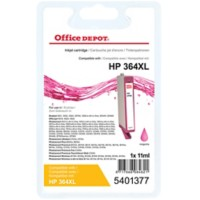 Office Depot Compatibel HP 364XL Inktcartridge CN686EE Magenta