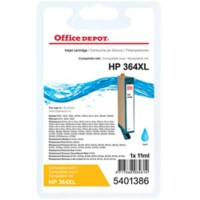Office Depot Compatibel HP 364XL Inktcartridge CN685EE Cyaan