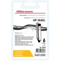 Office Depot Compatibel HP 364XL Inktcartridge CB322EE Foto Zwart