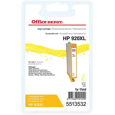 Office Depot Compatibel HP 920XL Inktcartridge CD974A Geel