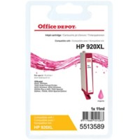 Office Depot Compatibel HP 920XL Inktcartridge CD973A Magenta