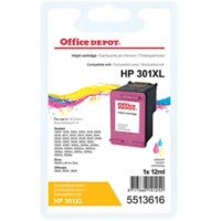Office Depot Compatibel HP 301XL Inktcartridge CH564EE 3 Kleuren