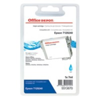 Office Depot Compatibel Epson T1292 Inktcartridge T12924010 Cyaan
