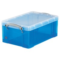 Really Useful Boxes Opbergbox 9 L Blauw Plastic 25,5 x 39,5 x 15,5 cm