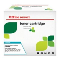 Originele Office Depot Lexmark E360H21E Tonercartridge Zwart