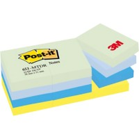 Post-it Notes 38 x 51 mm Droom Kleuren 12 Blokken van 100 Vellen