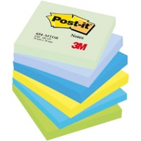 Post-it Notes 76 x 76 mm Droom Kleuren 6 Blokken van 100 Vellen