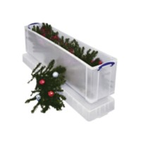 Really Useful Boxes Opbergbox 77 L Transparant Plastic 27 x 35,5 x 120,1 cm