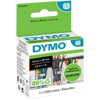 DYMO LW Multifunctionele etiketten 11353 Zwart op Wit 13 mm