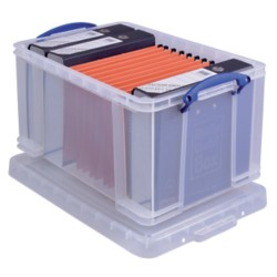 Really Useful Boxes Archiefboxen 48L A4 Transparant plastic 48 l