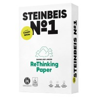 Steinbeis ClassicWhite Gerecycled Papier A4 80 g/m² Wit 500 Vellen