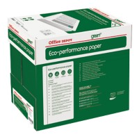 Office Depot Green Eco Performance print-/ kopieerpapier A4 75 gram Wit Quickbox Doos van 2500 vellen