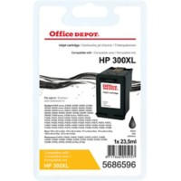Office Depot Compatibel HP 300XL Inktcartridge CC641EE Zwart