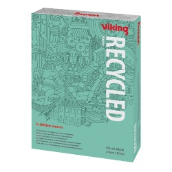 Viking Green Recycled papier A4 80 g/m² Grijs 58 cie 500 vel