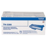 Brother TN-3380 Origineel Tonercartridge Zwart Zwart