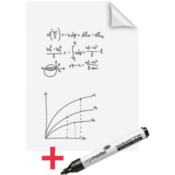 Legamaster Rol Whiteboardvellen Magic Chart Speciaal Blanco Wit 80 x 60 cm 25 vel