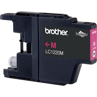 Brother LC-1220M Origineel Inktcartridge Magenta