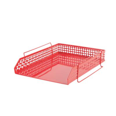 Foray Brievenhouder Rood A4 Metaal 26,3 x 31,2 x 7,5 cm