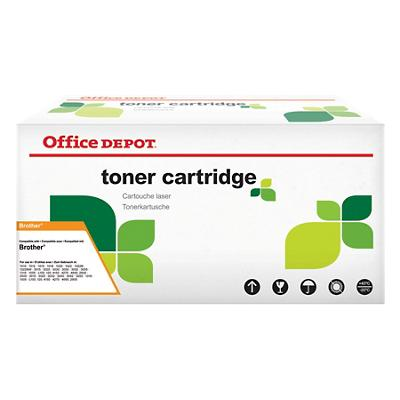 Compatibel Office Depot Brother TN-2220 Tonercartridge Zwart