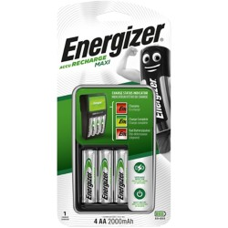 Energizer Batterijlader Mini aa,aaa nimh batteries