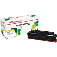 Compatibel Office Depot HP 410X Tonercartridge CF411X Cyaan