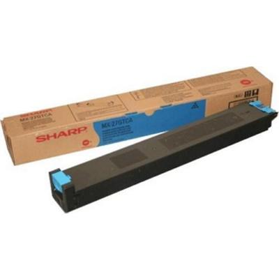 Sharp MX-27GTCA Origineel Tonercartridge Cyaan Cyaan