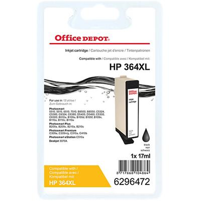 Office Depot Compatibel HP 364XL Inktcartridge CN684EE Zwart