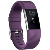 Fitbit Activiteitsmeter Charge 2 large Paars, zilver