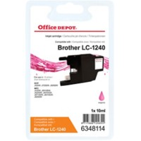 Office Depot Compatibel Brother LC1240M Inktcartridge Magenta