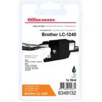 Office Depot Compatibel Brother LC1240BK Inktcartridge Zwart