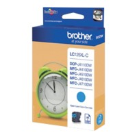 Brother LC125XL Origineel Inktcartridge Cyaan