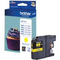 Brother LC123 Origineel Inktcartridge Geel