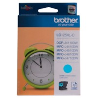 Brother LC125XLC Origineel Inktcartridge Cyaan