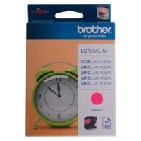 Brother LC125XLM Origineel Inktcartridge Magenta
