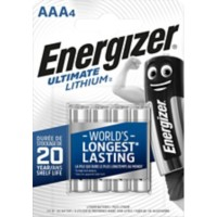 AAA batterijen Energizer ultimate lithium 3000 mAh