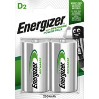 Energizer Batterijen Power Plus D 2 Stuks