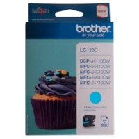 Brother LC123C Origineel Inktcartridge Cyaan