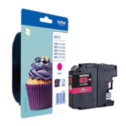 Brother LC123M Origineel Inktcartridge Magenta