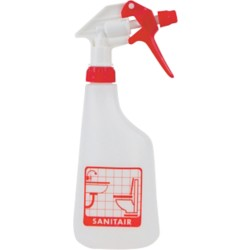 BETRA Sprayflacon Transparant, rood 600 ml