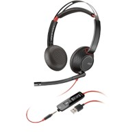 Plantronics Blackwire 5220 USB Headset zwart