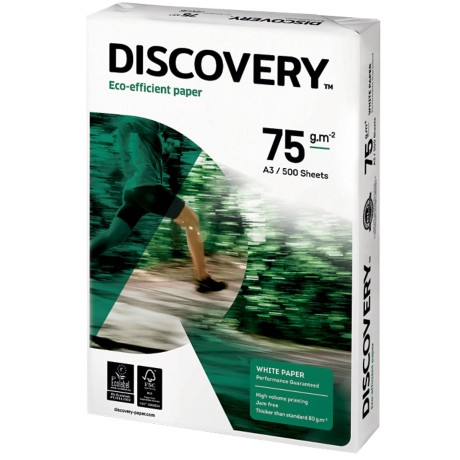 Discovery Papier A3 75 g/m² Wit 500 vel