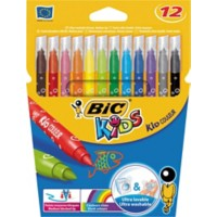 BIC Kid Couleur Viltstiften 0.8 mm 12 Stuks