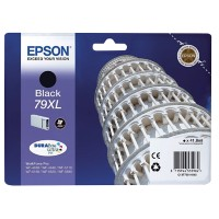 Epson 79XL Original Inktcartridge C13T79014010 Zwart